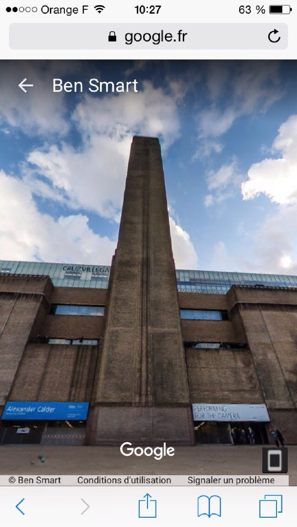 Foto del 2 de diciembre de 2016 9:27, Tate Modern, Bankside, London SE1 9TG, Reino Unido