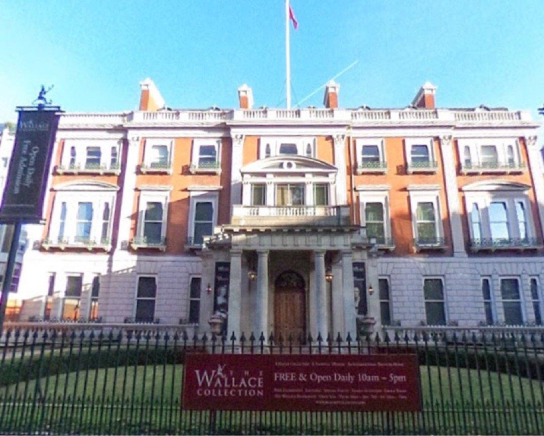Foto vom 2. Dezember 2016 09:36, Wallace Collection, Hertford House, Manchester Square, Marylebone, London W1U 3BN, Vereinigtes Königreich