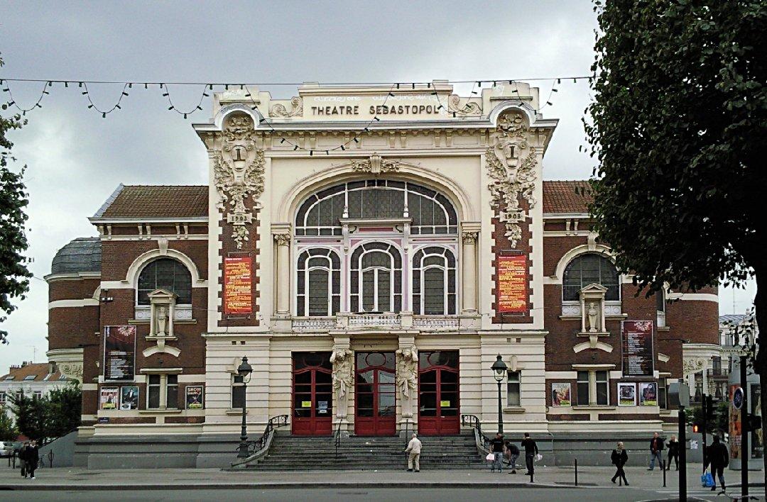 Photo du 2 janvier 2017 14:32, Théâtre Sebastopol, Place Sébastopol, 59000 Lille, France