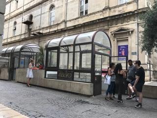 Photo du 24 juillet 2017 10:14, Toilettes publiques, 26110 Vinsobres, Francia