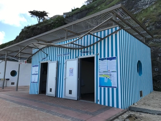 Photo du 20 mai 2017 08:05, Toilettes publiques, Promenade du Plat Gousset, Granville, France