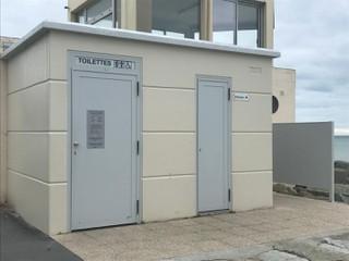 Photo du 11 octobre 2017 09:22, Toilettes publiques, 151 Boulevard maritime, Saint-Pair-sur-Mer, France