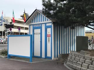 Photo du 21 mai 2017 16:59, Toilettes publiques, Boulevard des Amiraux Granvillais, Granville, France