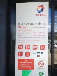 Photo du 17 mars 2018 15:33, Total, A10, 37380 Monnaie, France
