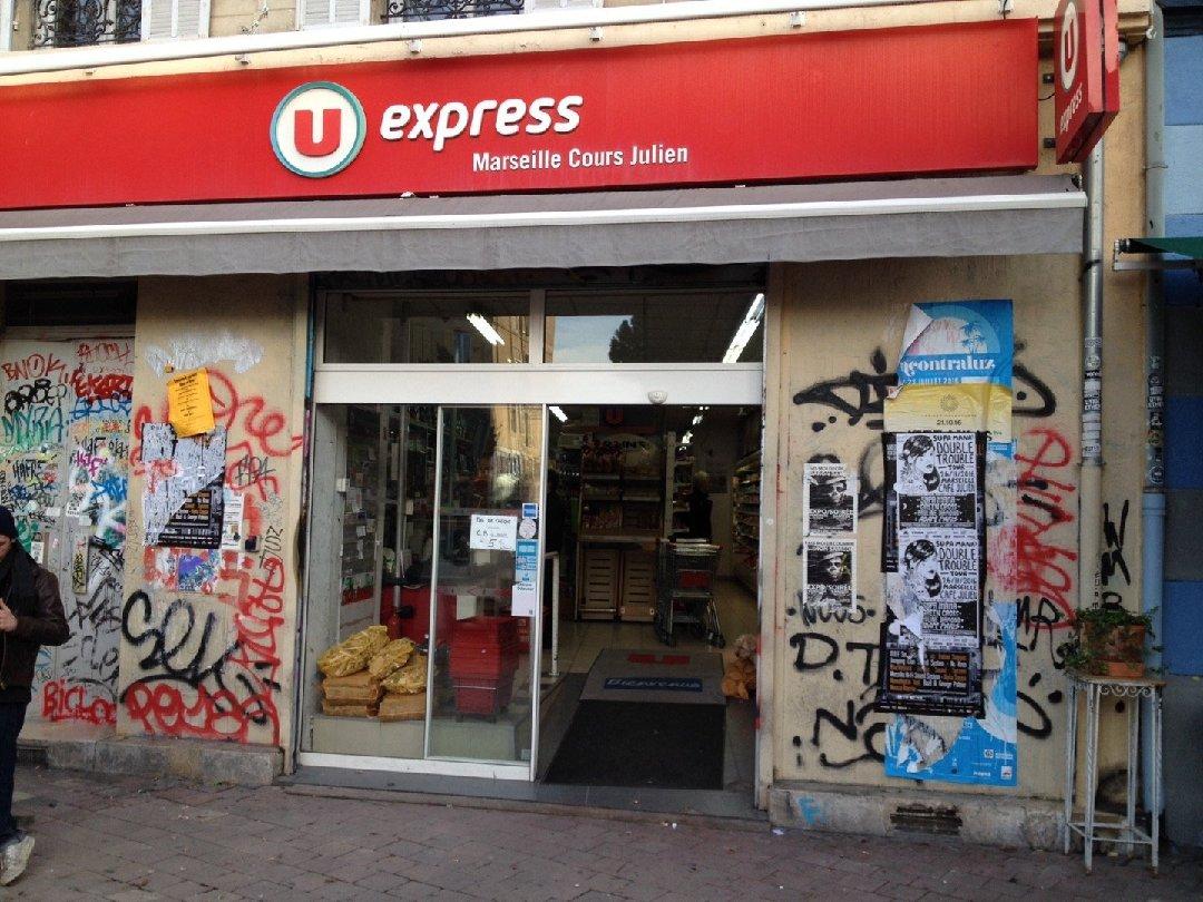 Photo du 26 novembre 2016 14:42, U Express, 61 Cours Julien, 13006 Marseille, France