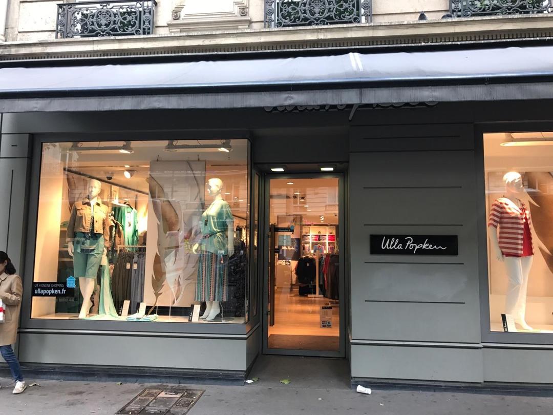 Photo of the June 6, 2017 1:25 PM, Ulla Popken, 32 Boulevard Haussmann, 75009 Paris, France