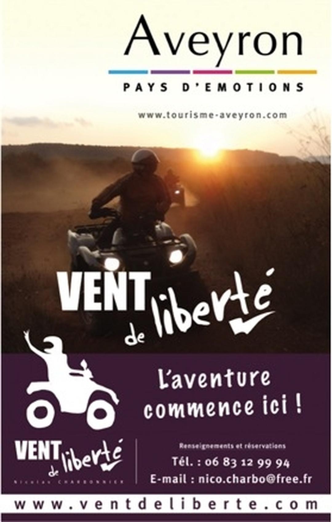 Photo of the February 5, 2016 6:55 PM, Vent de Liberté, Domaine de Combelles, Allée Jappeloup, 12000 Le Monastère, France