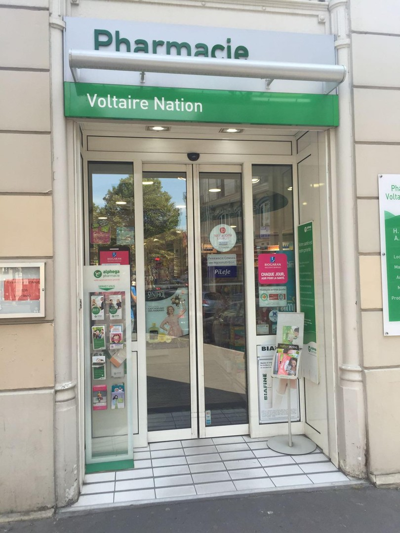 Photo du 8 février 2018 16:26, Pharmacie Voltaire Nation, 264 Boulevard Voltaire, 75011 Paris, France