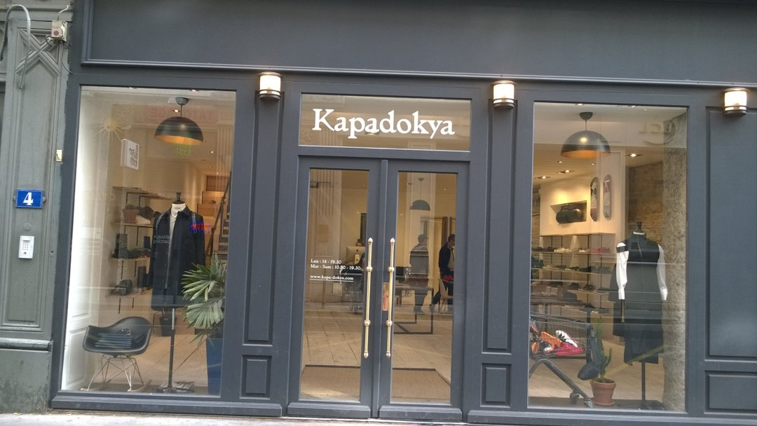 Foto del 6 de octubre de 2016 13:11, Kapadokya, 4 Rue Constantine, 69001 Lyon, Francia