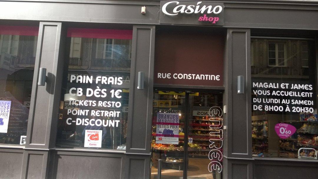 Photo of the October 6, 2016 1:23 PM, Le Petit Casino de Constantine, 5 Rue Constantine, 69001 Lyon, France