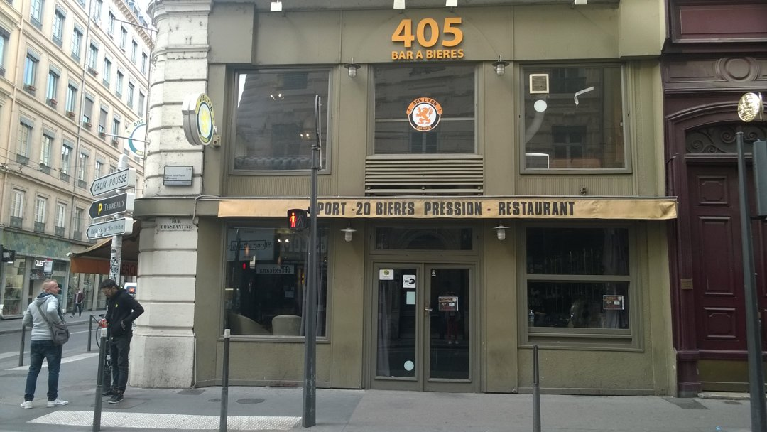 Photo du 6 octobre 2016 13:31, 405 Bar à Bières, 9 Rue Constantine, 69001 Lyon, France