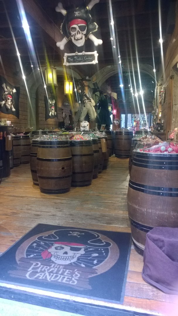 Foto del 6 de octubre de 2016 13:37, The Pirate's Candies, 11 Rue Saint-Jean, 69005 Lyon, Francia