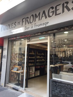 Foto del 21 de septiembre de 2017 12:12, Paroles de Fromagers, 41 Rue du Faubourg du Temple, 75010 Paris, France