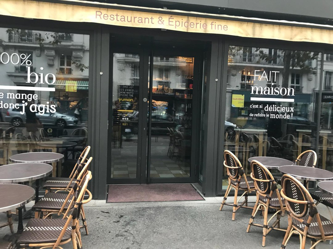 Photo of the November 17, 2017 7:50 AM, YUMAN café et restaurant, 70 Rue du Chevaleret, 75013 Paris, France