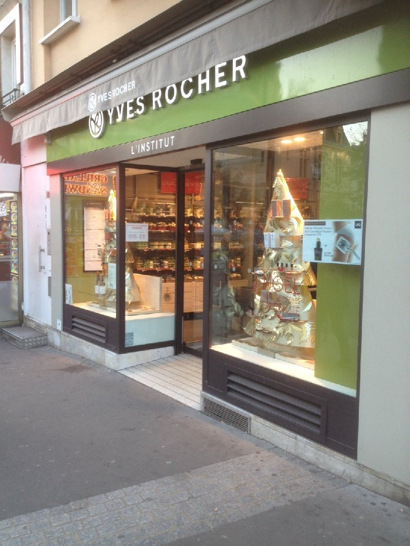 Photo of the December 3, 2016 3:02 PM, Yves Rocher, 129 Rue de Paris, 93260 Les Lilas, Francia