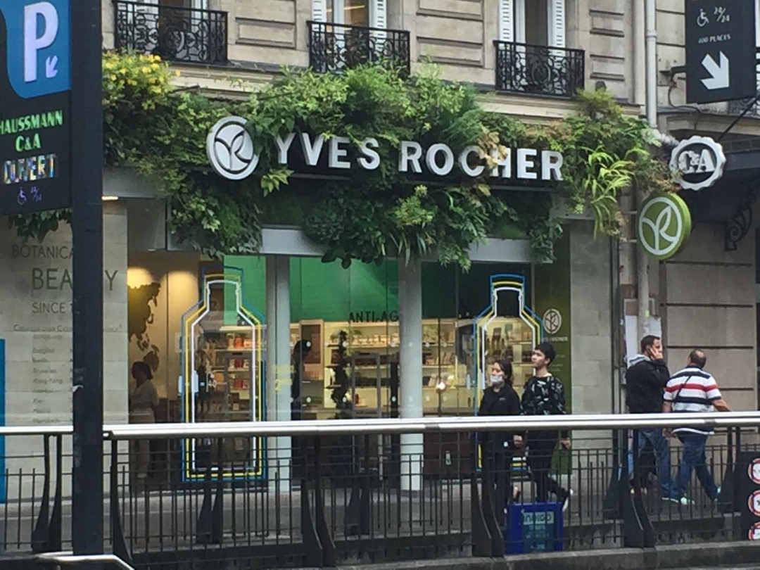 Photo of the June 6, 2017 1:15 PM, Yves Rocher, 43 Boulevard Haussmann, 75009 Paris, France