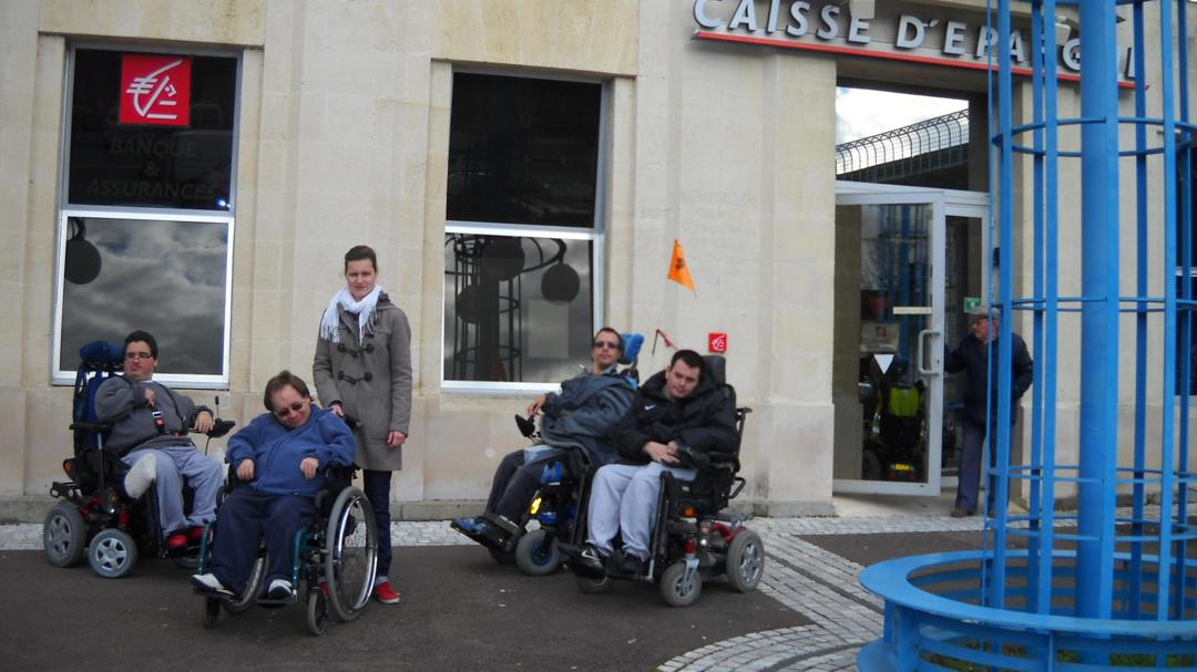 Photo of the February 5, 2016 6:54 PM, Caisse d'Epargne Marmande, Pl Georges Clemenceau, B.P 95, 47202 Marmande, France