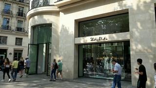 Foto vom 26. August 2017 14:45, Zara, 92 Av. des Champs-Élysées, 75008 Paris, France