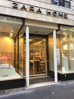 Photo du 30 octobre 2017 10:18, Zara Home France, 54 Avenue Victor Hugo, 75016 Paris, France