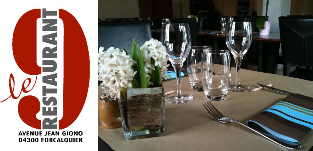 Restaurant - Le 9 Restaurant - Avenue Jean Giono - Restaurant , Forcalquier