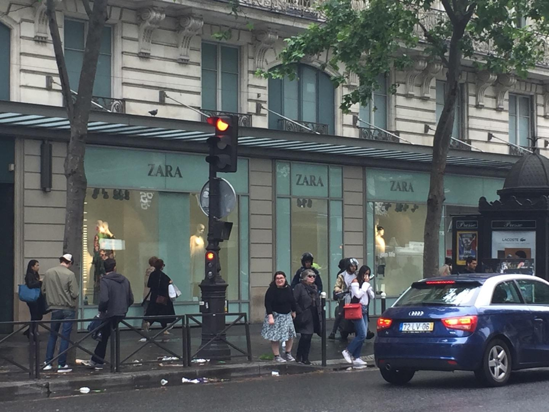 Photo of the June 6, 2017 1:13 PM, ZARA, 39-41 Boulevard Haussmann, 75009 Paris, France