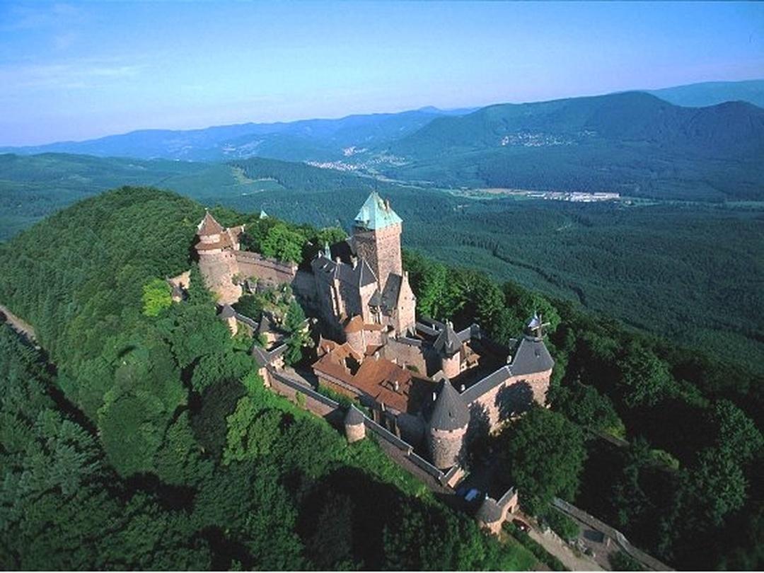 Foto del 5 de febrero de 2016 18:51, Castillo de Haut-Koenigsbourg, 67600 Orschwiller, Francia