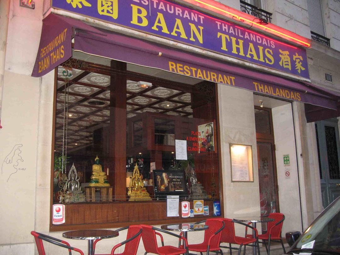 Restaurant - Baan Thais , Paris