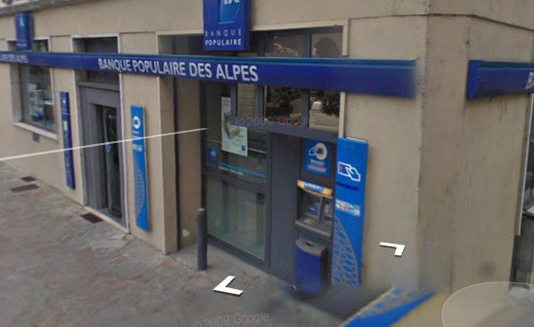Foto vom 5. Februar 2016 18:52, Banque Populaire, 5 Place Grenette, 74150 Rumilly, Frankreich