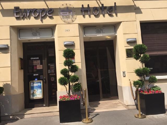 photo du 5 fvrier 2016 1057 europe hotel paris eiffel 103 boulevard - Douche Italienne Dimension1752