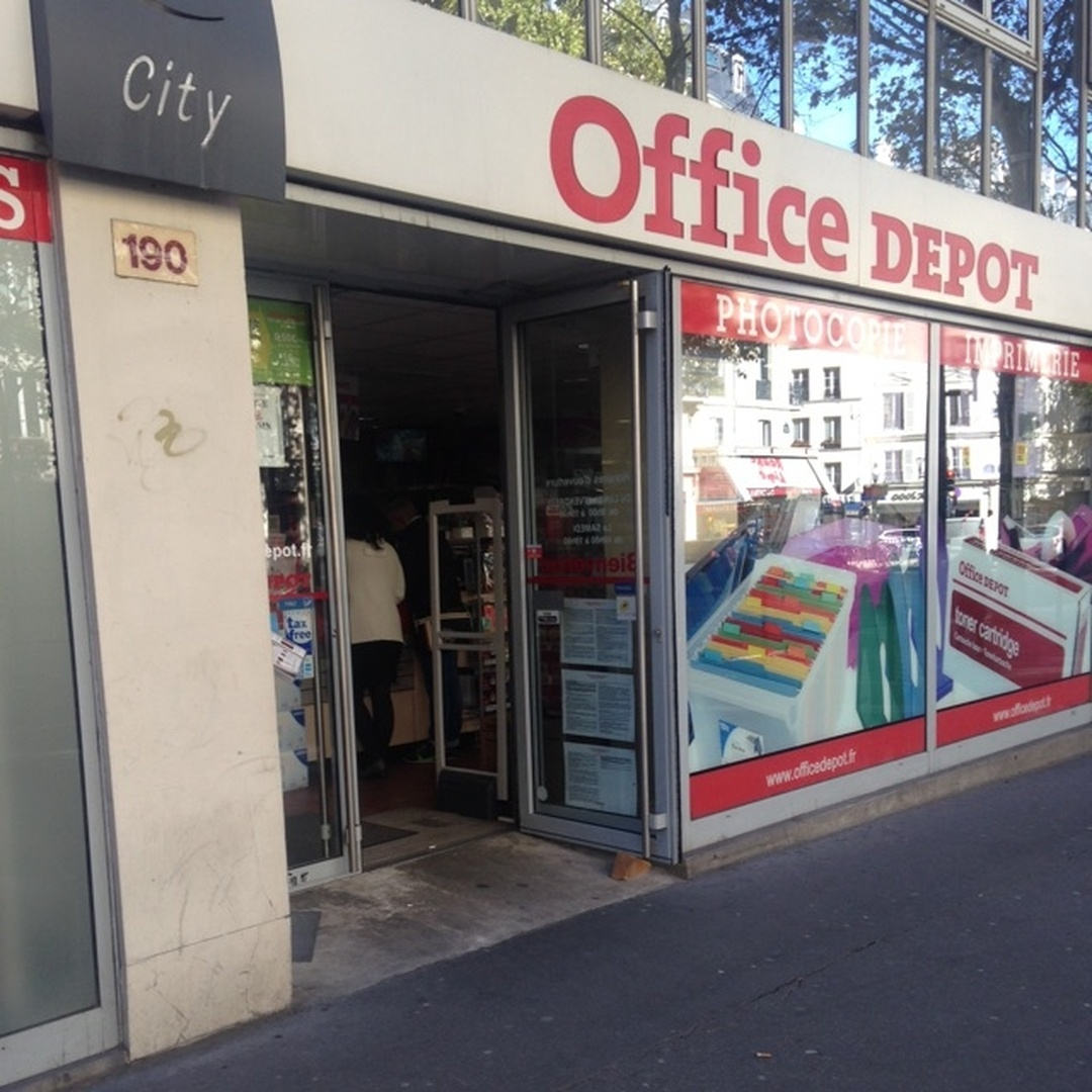 Photo of the February 5, 2016 6:57 PM, Office Depot, 190 Boulevard Voltaire, 75011 Paris, France