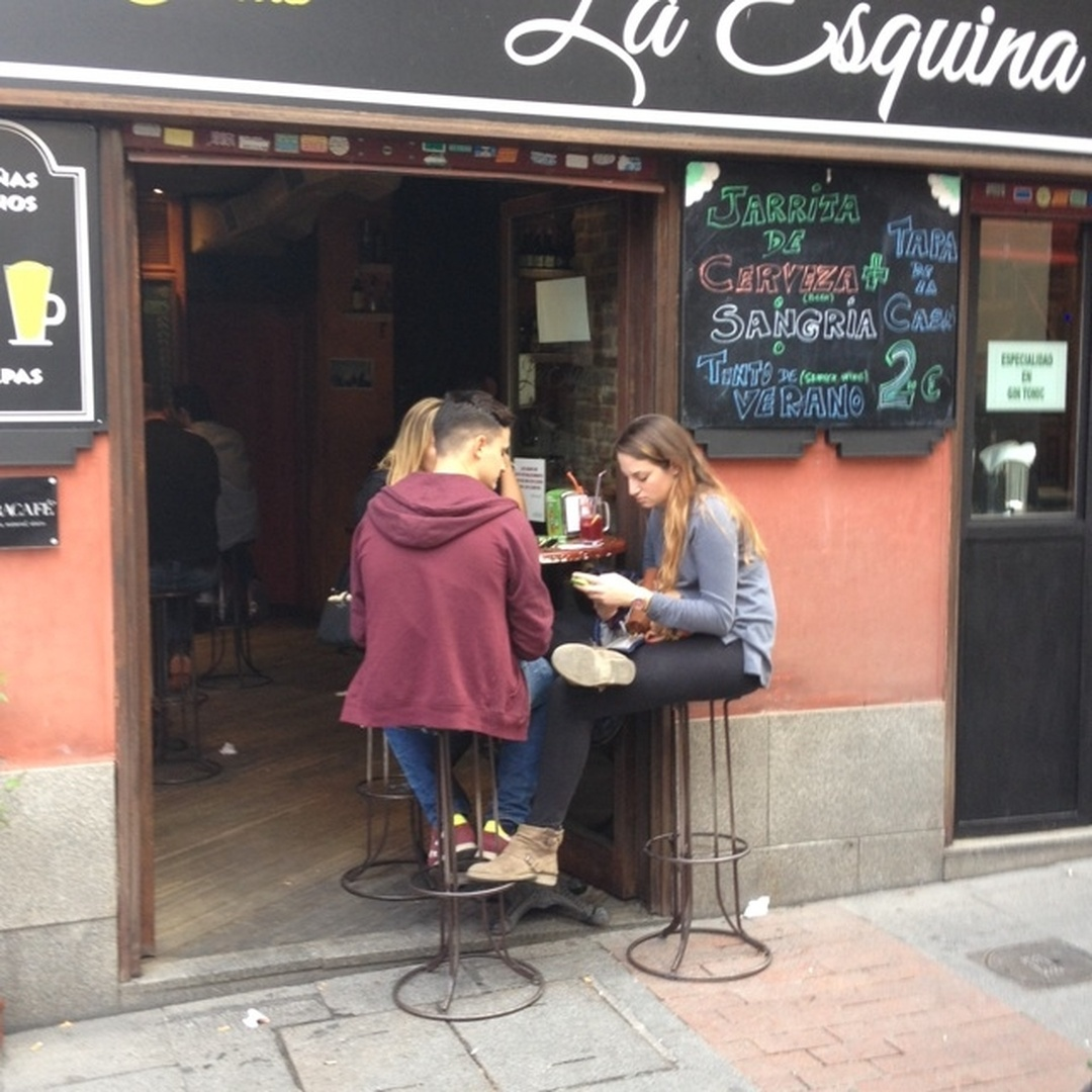 Photo du 5 février 2016 18:57, La Esquina, Calle de las Huertas, 70, 28014 Madrid, Spain