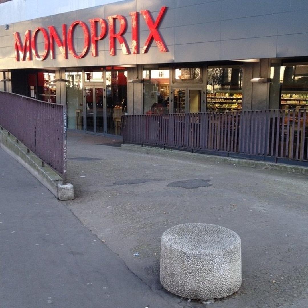 Supermarché - Monoprix , Paris