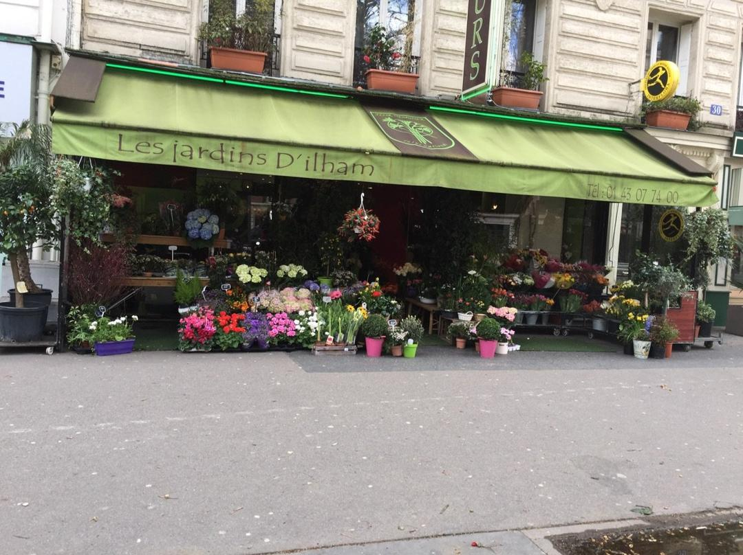 Foto del 24 de mayo de 2016 22:49, The gardens of Ilham, 30 Boulevard Diderot, 75012 Paris, Francia