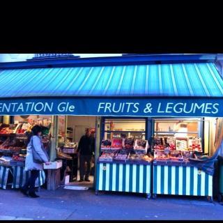 Foto del 24 de mayo de 2016 22:49, Cours des halles, Rue des cinq Diamants, 75013 Paris, Francia