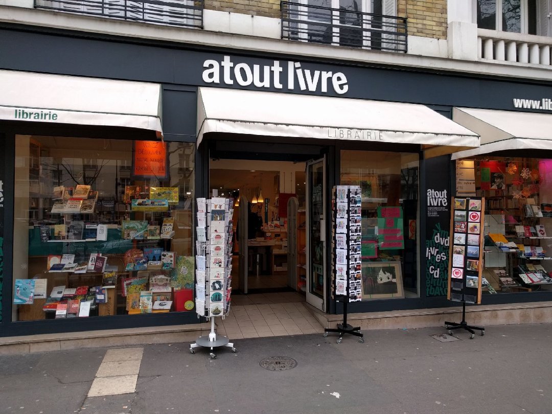 Photo of the February 9, 2017 11:27 AM, atout livre Daumesnil, 203 bis Avenue Daumesnil, 75012 Paris, France