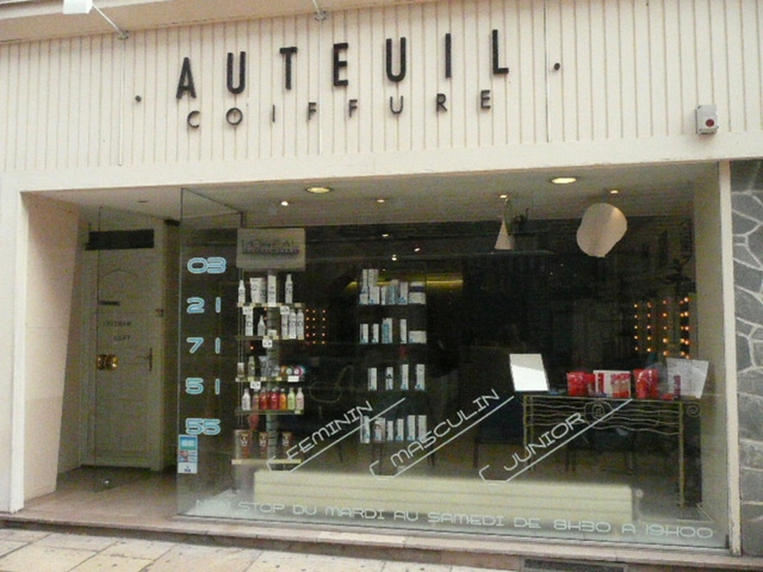 Photo of the February 5, 2016 6:49 PM, Auteuil Coiffure, 1 Rue Ronville, 62000 Arras, France