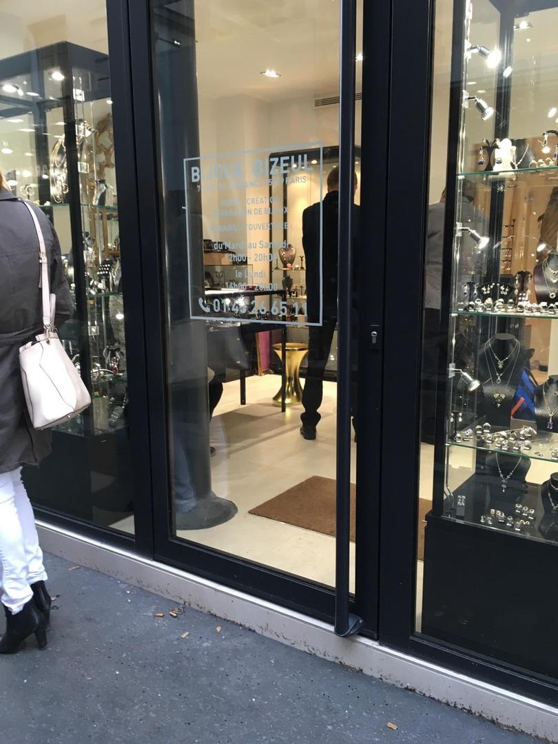 Photo of the June 6, 2017 1:35 PM, bijoux bizeul, 76 Rue de Provence, Paris, France