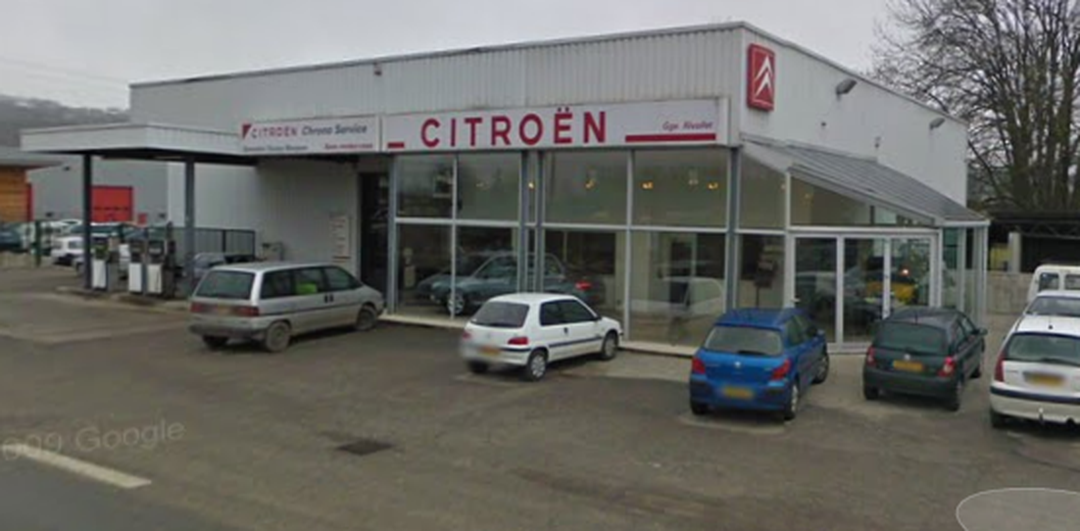 Gas Station - Garage Rivollet - Citroën , Albens