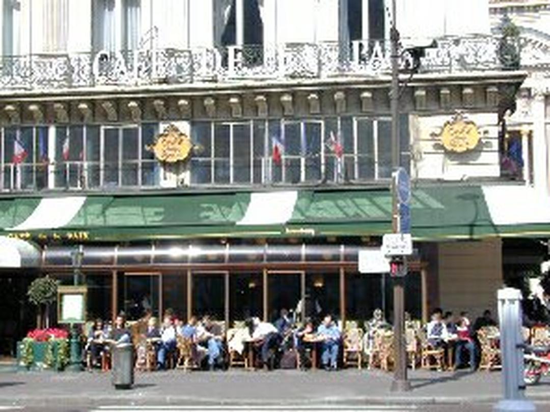 Restaurant - Café de la Paix , Paris