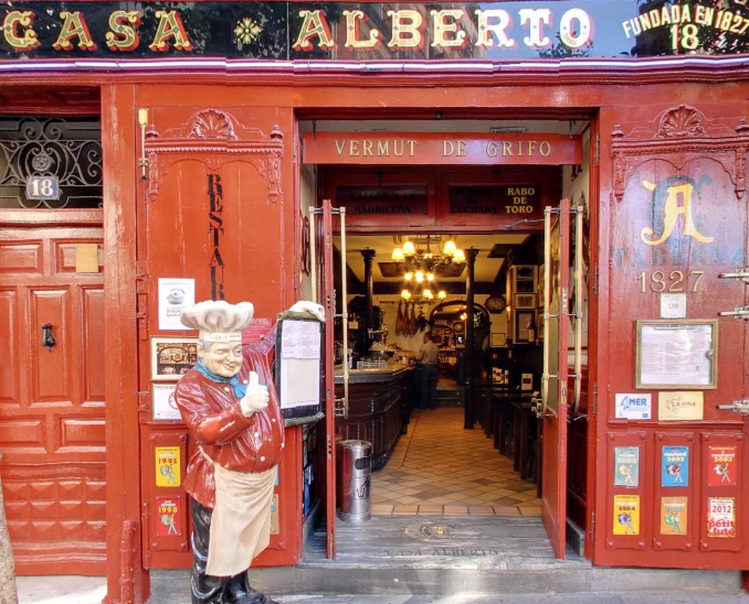 Foto vom 5. Februar 2016 18:57, Restaurante Casa Alberto, Calle de las Huertas, 18, 28012 Madrid, Spanien