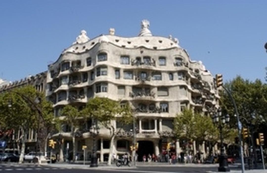 Photo of the February 5, 2016 6:53 PM, Casa Milà, Provença, 261-265, 08008 Barcelona, Spain