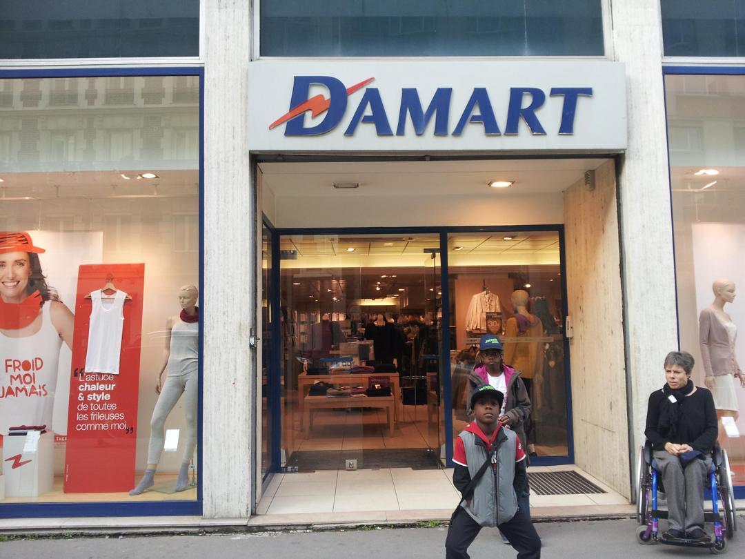 Photo du 5 février 2016 18:55, Damart, 134 Bis Rue de Vaugirard, 75015 Paris, France