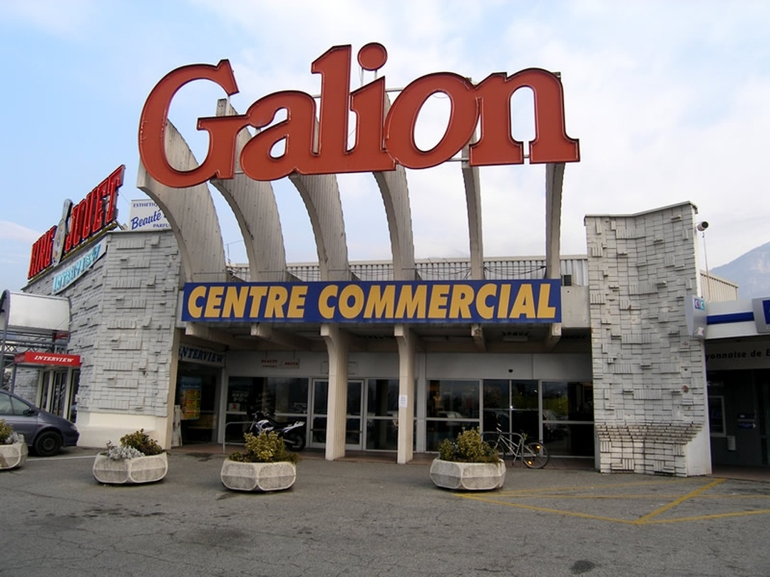 Shopping Mall - Centre Commercial Le Galion , Bassens