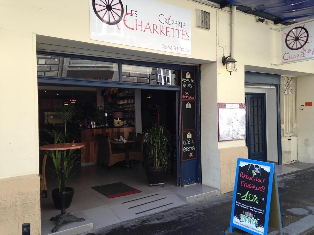 Photo du 5 février 2016 18:56, Crêperie Les Charrettes Bordeaux, 17 Rue Élie Gintrac, 33000 Bordeaux, France