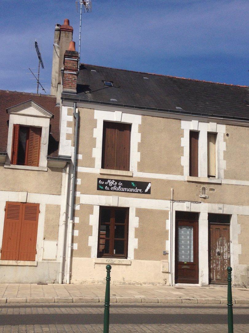 Foto del 4 de julio de 2016 13:02, les Mots de la Salamandre, 36 Fbg d'Orléans, 41200 Romorantin-Lanthenay, Francia