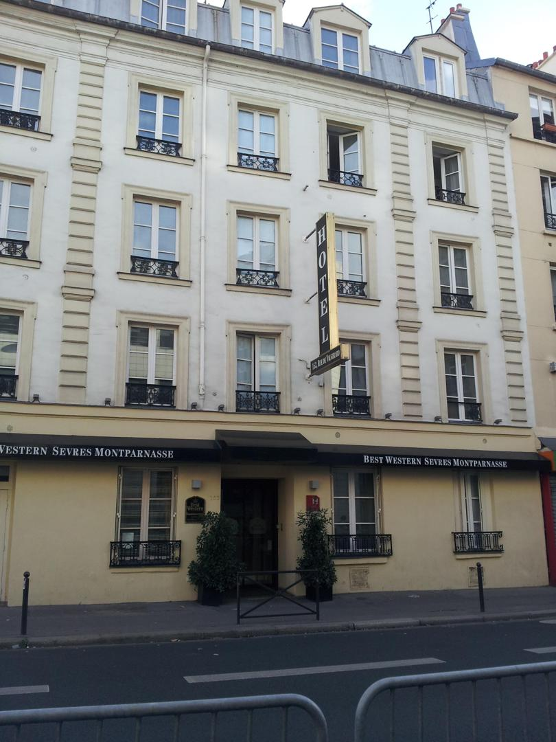 Photo du 5 février 2016 18:55, Best Western Sèvres Montparnasse, 153 Rue de Vaugirard, 75015 Paris, France