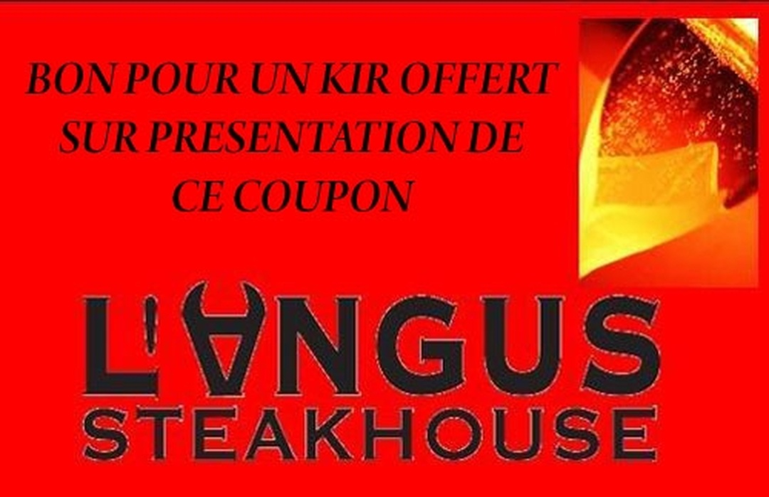 Photo of the February 5, 2016 6:55 PM, Restaurant L'Angus SteakHouse, 241 Rue de Clermont, 60000 Beauvais, France