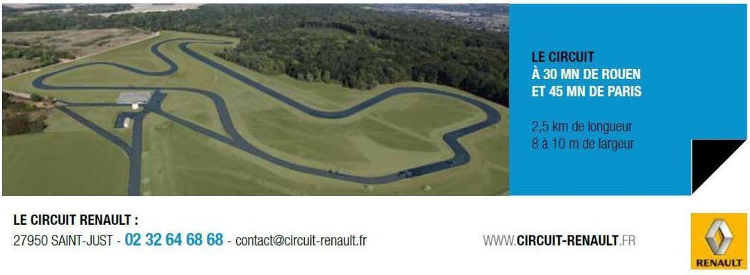Photo of the February 5, 2016 6:54 PM, Circuit Renault, lieu dit la Corne Haute, 27950 Saint-Just, France