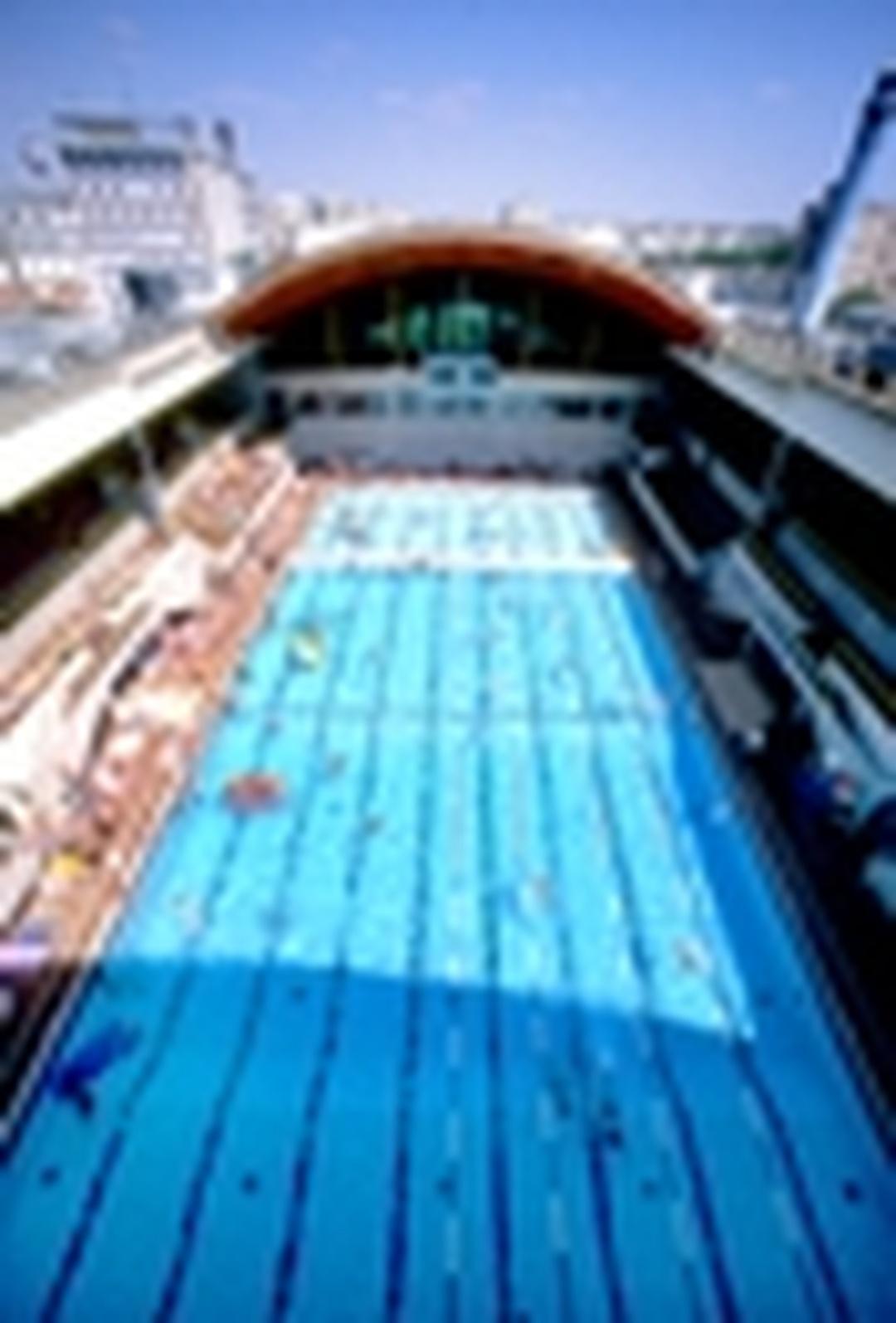Public Swimming Pool - Piscine Georges Vallerey , Paris