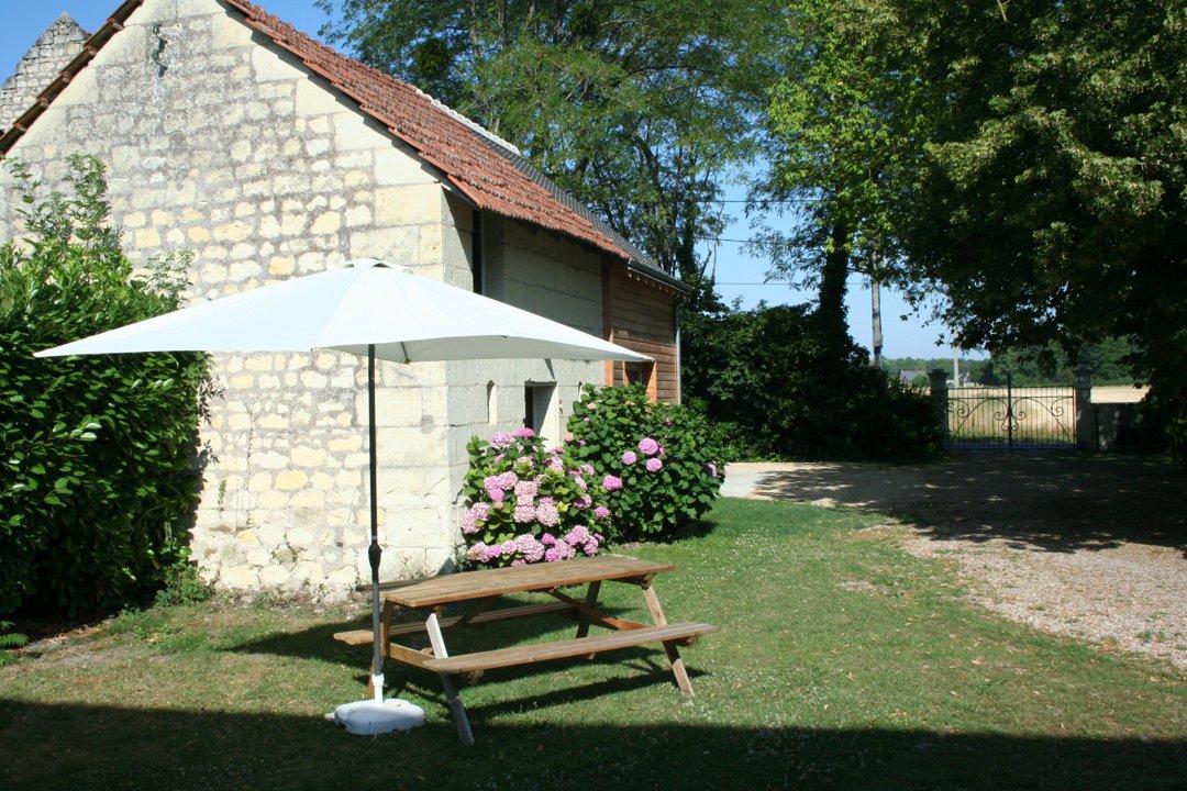 Foto vom 31. August 2016 16:38, Location de gite touristique *** Le Ruau, 17 Rue du Ruau, 37420 Beaumont-en-Véron, Frankreich